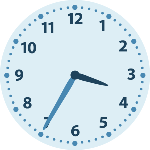 Beroemd Rekenen groep 5 | Klokkijken | Analoge klok | Algemeen  DE24