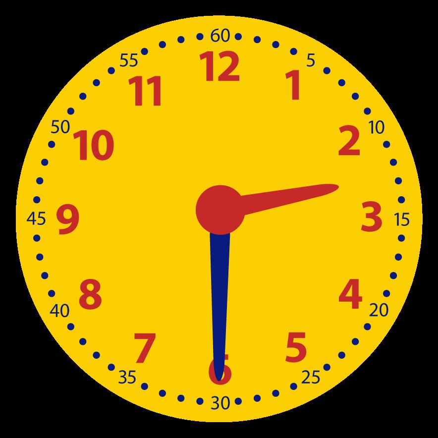 Welke digitale tijd hoort erbij?