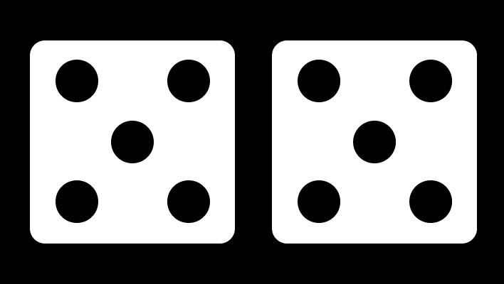 10 op de dobbelsteen, rekenen met de dobbelsteen, verkort tellen, dobbelsteenstructuur