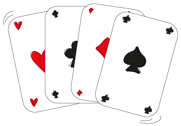Cijferend, cijferen, kaarten, optelsommen, optellen, som, onder elkaar