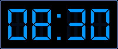 Half 9 op de digitale klok. Halve uren op de analoge en digitale klok. Welke klokken horen bij elkaar?