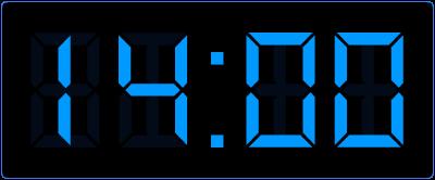 Digitale tijd koppelen aan analoge tijd.