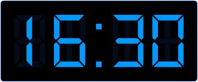 De analoge en de digitale klok. Hoe laat is het?