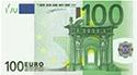 briefje van 100 euro, 100 euro, rekenen 100 euro