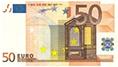 briefje van 50 euro, 50 euro, rekenen 50 euro