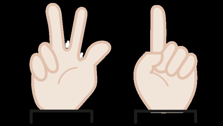 splitsen, vingerbeelden, groep 3, rekenen